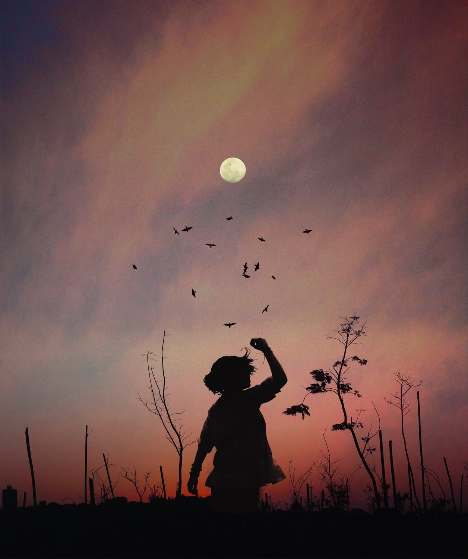 Супер Луна във Везни