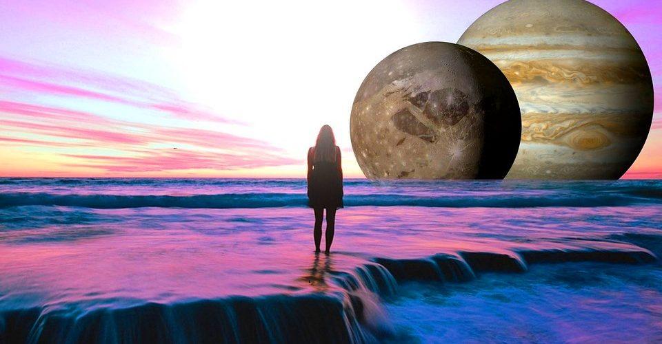 Тригон на Венера и Юпитер